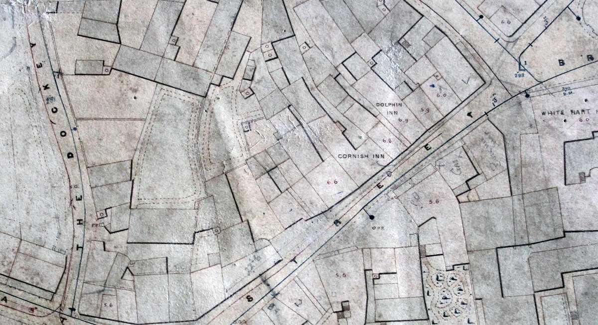 Westgate Street in 1853.