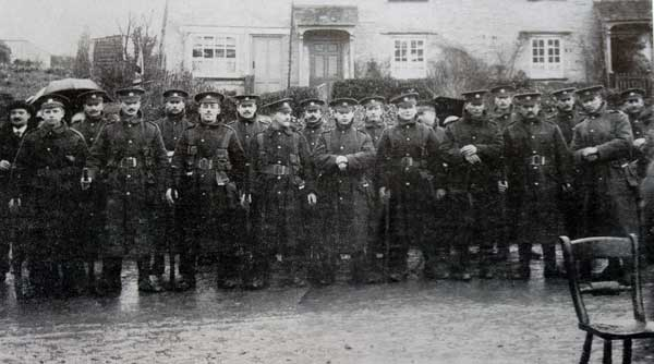 A Recruitment Parade at Yeolmbridge in 1916.