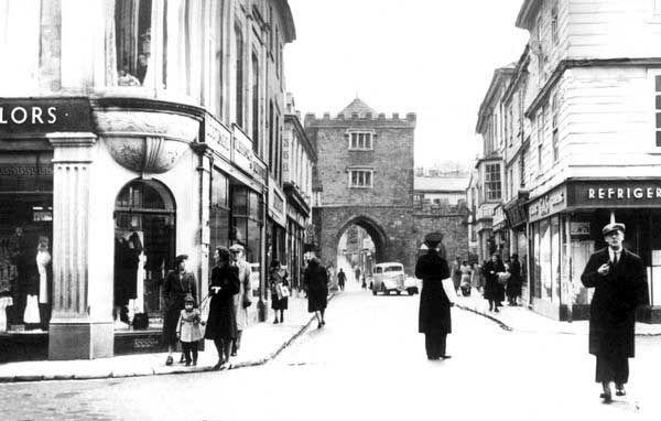 launceston-south-gate-street-1949
