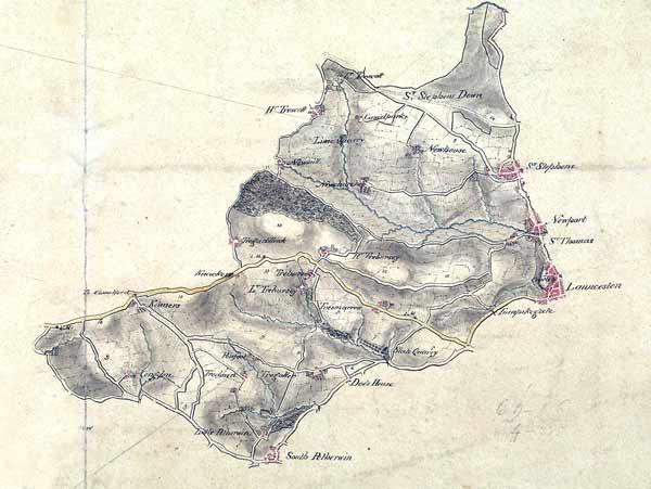 1806-map-of-launceston-by-robert-dawson