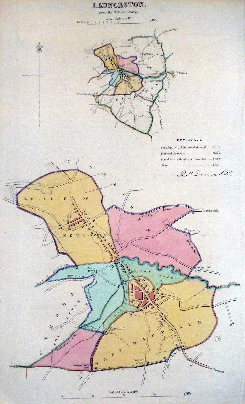 1832-map-of-launceston
