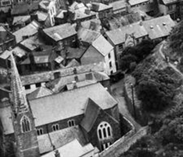 aerial-of-castle-dyke-in-1937