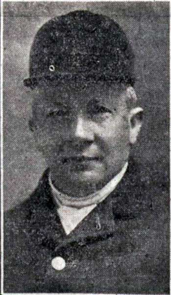 Charles Shuker as the master of the Tetcott Hunt in 1921.