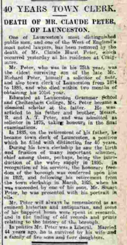 c-h-peter-obituary