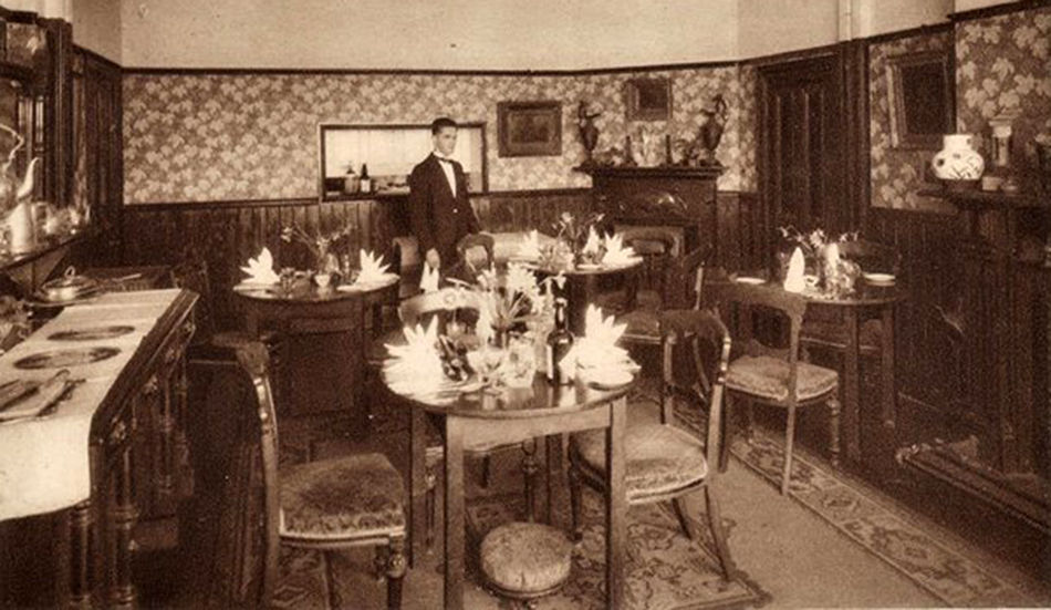 Dining Room of the Wilsey Down Hotel. Photo courtesy of Gary Lashbrook