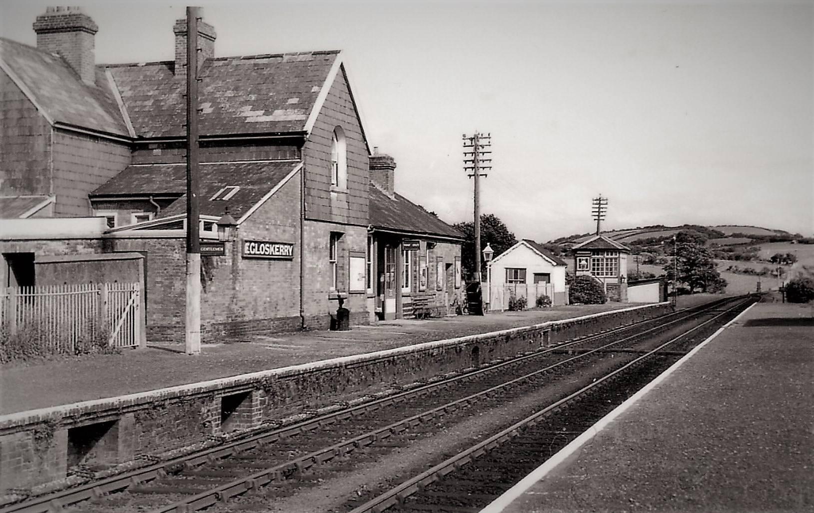 Egloskerry Station. Photo courtesy of Gary Lashbrook. 2