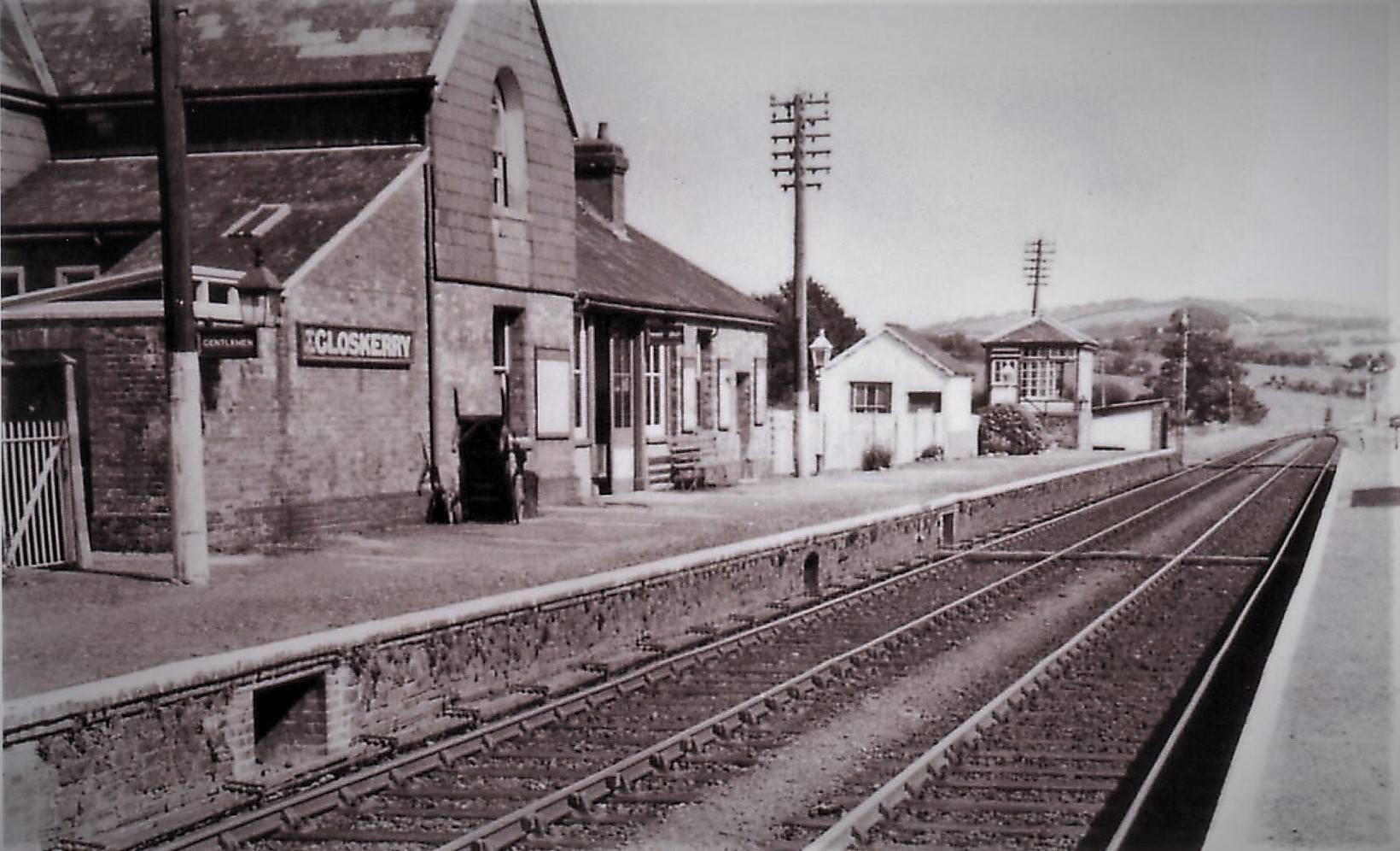 Egloskerry Station. Photo courtesy of Gary Lashbrook.