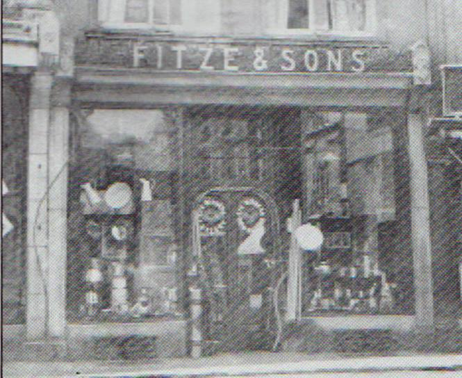 Fitz and Son, 19 Broad Street, Launceston. c.1920's