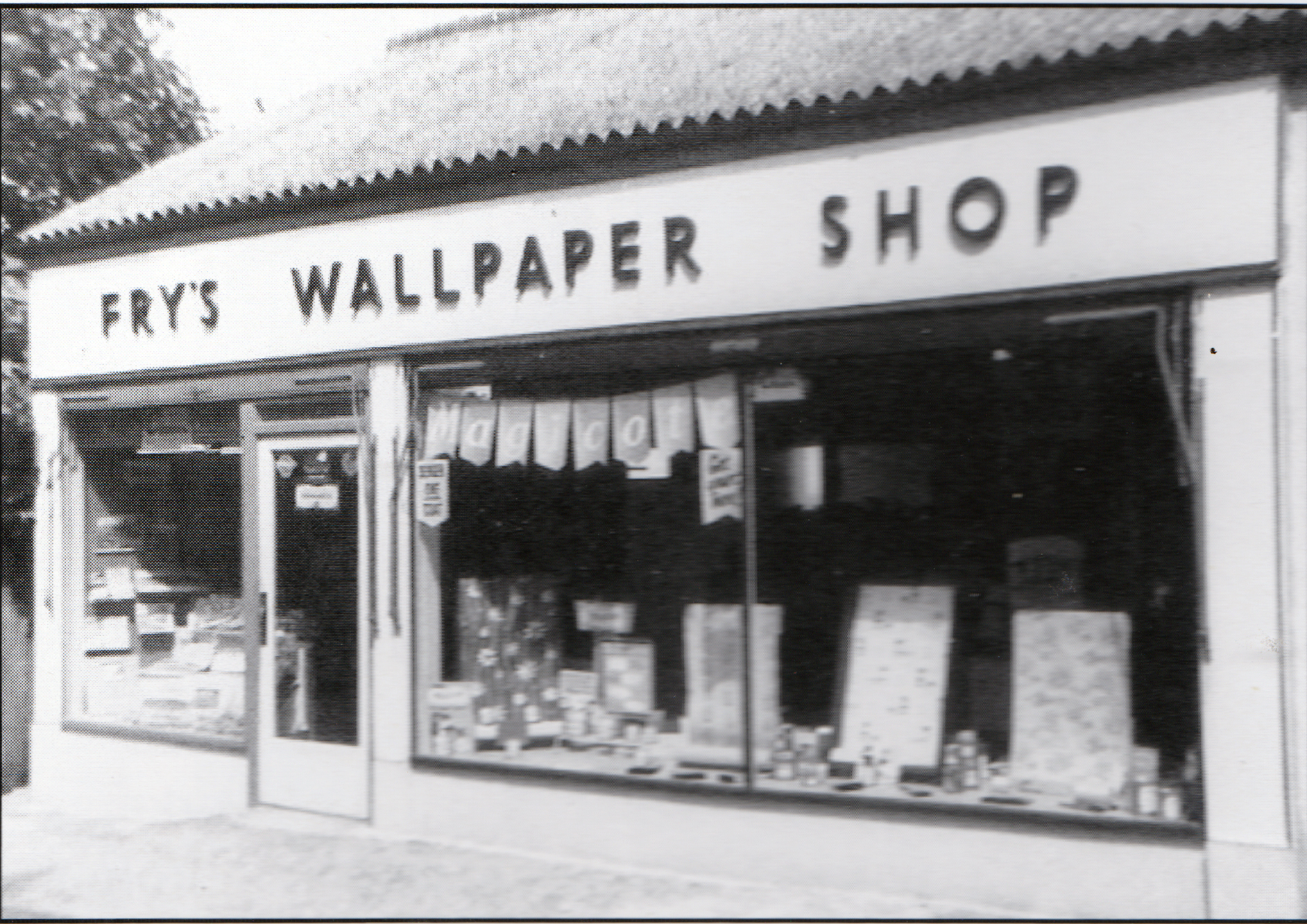 Fry's Wallpaper Shop, Race Hill, Launceston