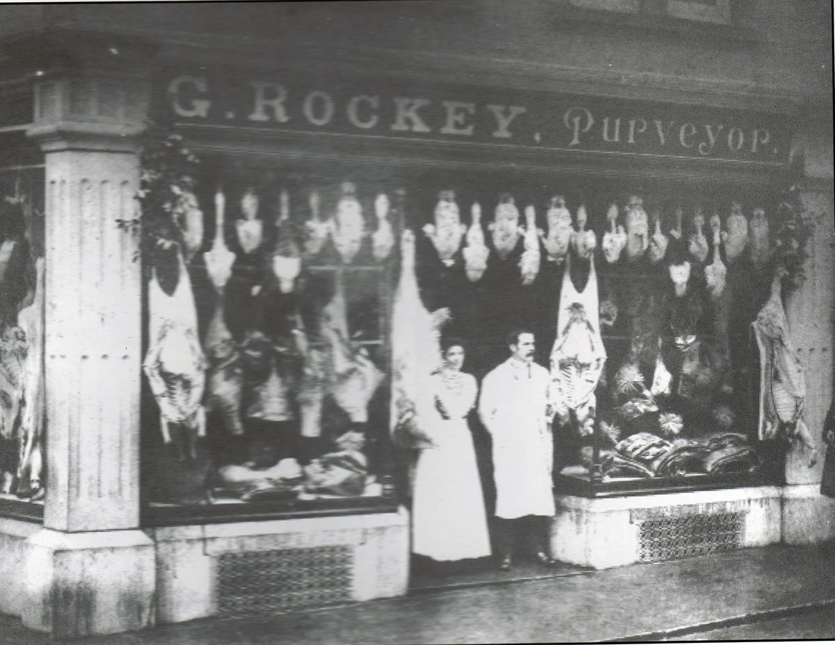 G. Rockey, 1, Church Street, Launceston