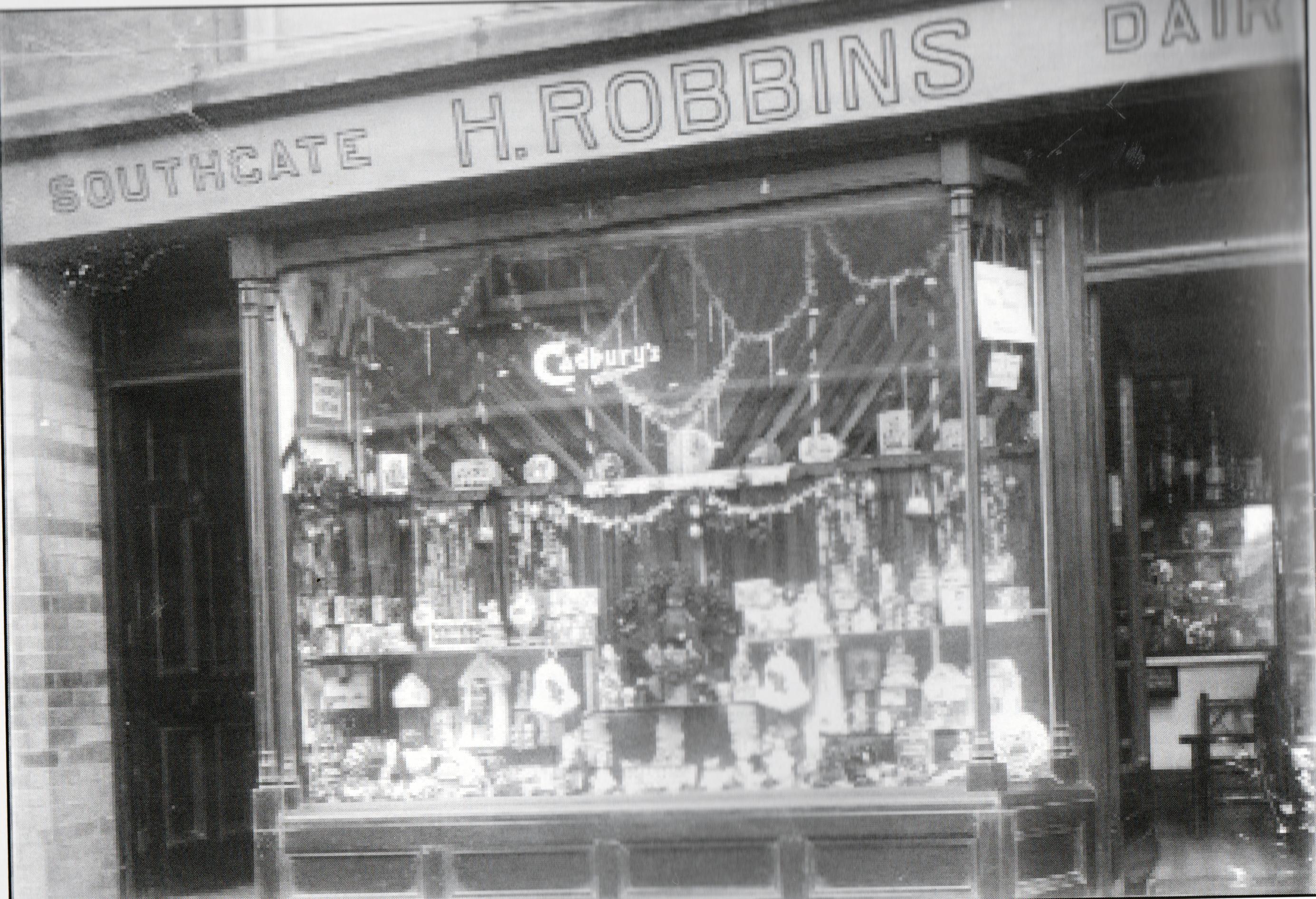 H. Robbins, 16 Southgate Place.