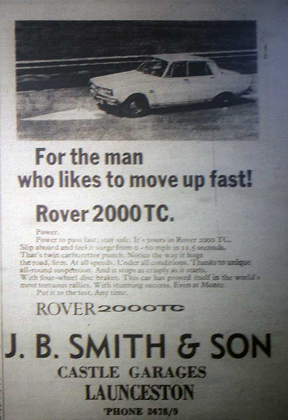 j-b-smith-advert-for-rover-2000tc