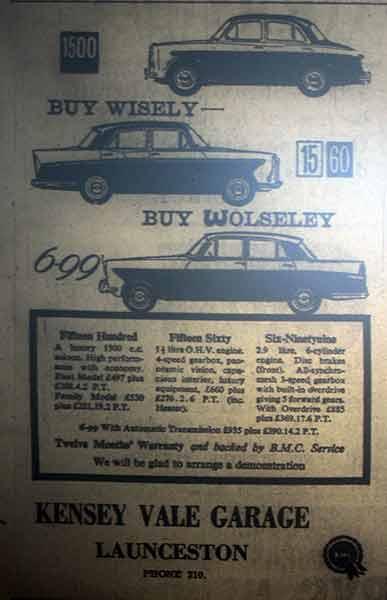 kensey-vale-garage-advert-from-1960