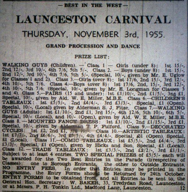 launceston-carnival-1955