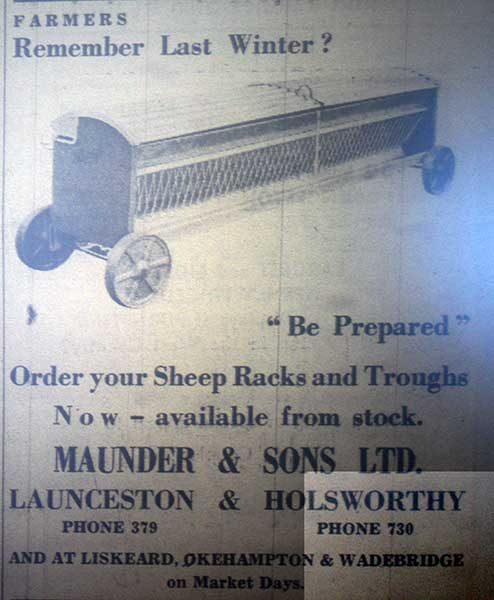 maunder-and-sons-1963-advert