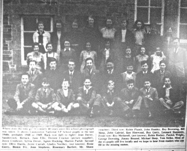 National School in 1948