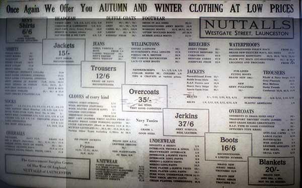 nuttalls-launceston-advert-in-1958