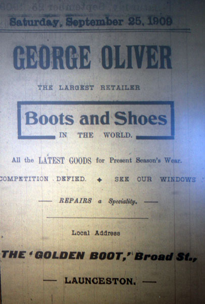 olivers-1909-advert