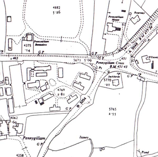 pennygillam-camp-map