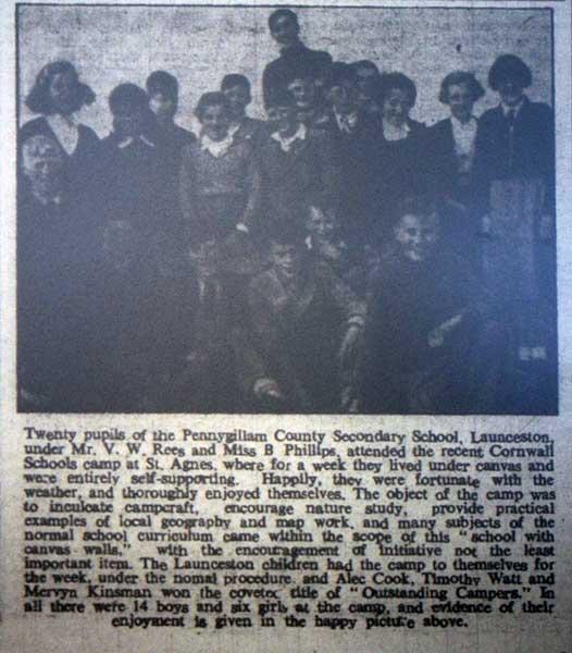 pennygillam-school-camp-in-1954