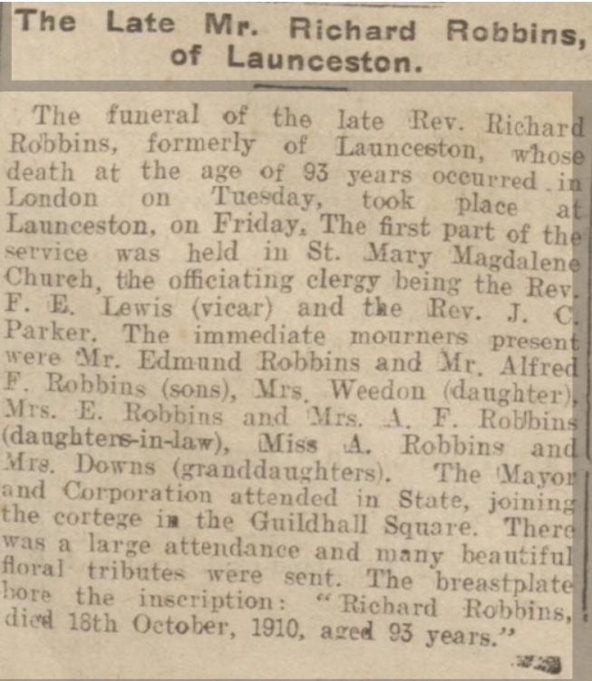 richard-robbins-funeral-1910