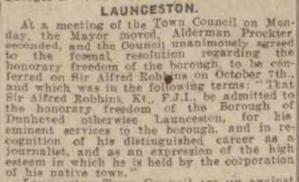 sir-alfred-robbins-western-times-19-september-1924