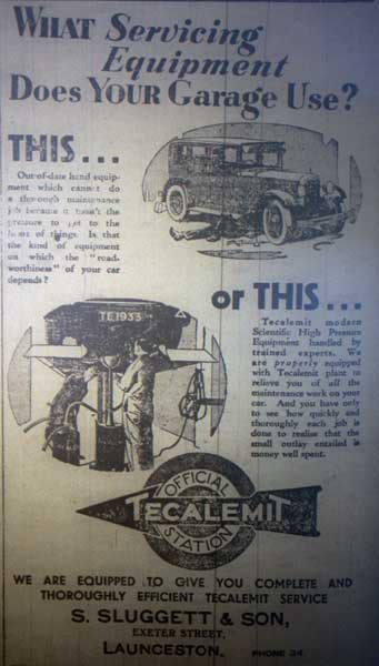sluggett-1933-advert