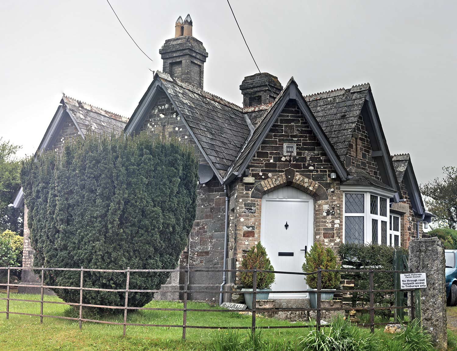 Trebursye South Lodge in May 2016.