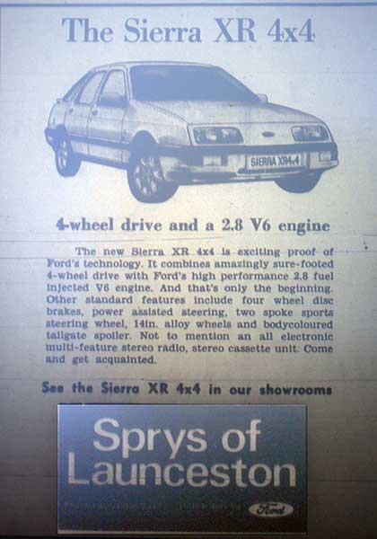 sprys-1985-advert
