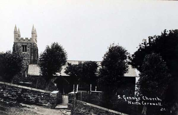 st-gennys-church-c-1930
