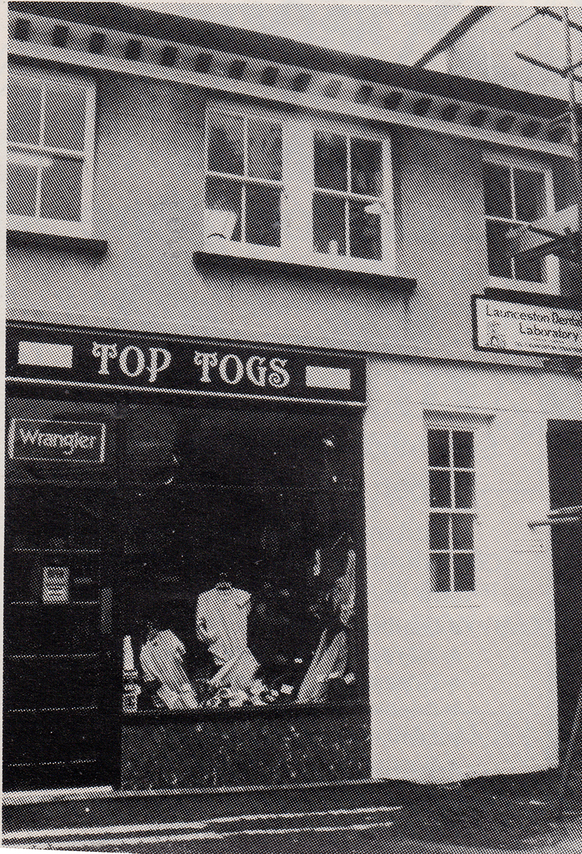 Top Togs, Church Style in 1982
