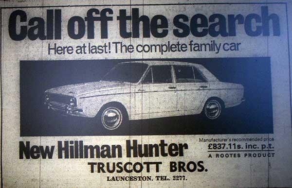 truscotts-1966-advert