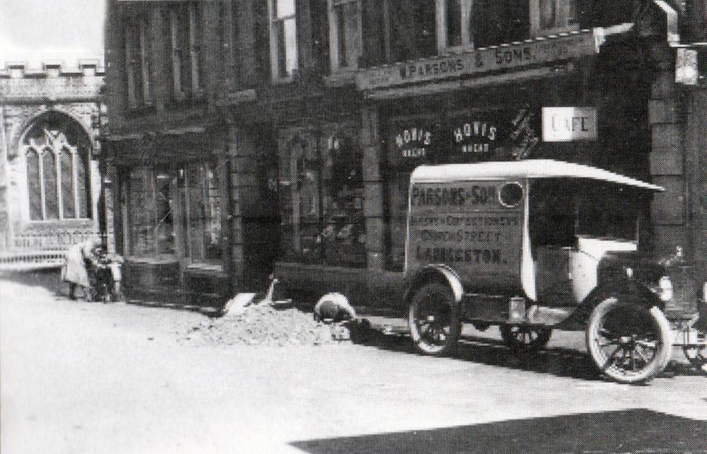 W. Parsons Church Street, Launceston in the 1920's.
