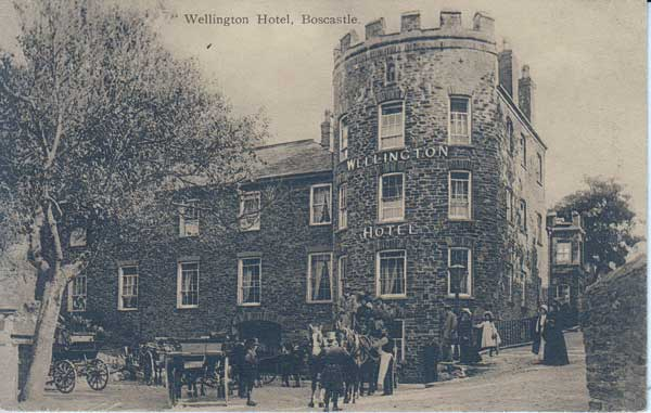 wellington-hotel-boscastle-in-1918