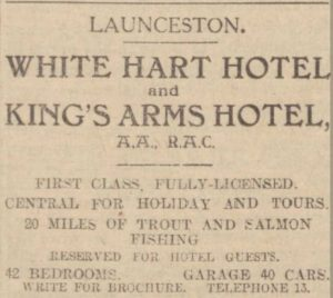 White Hart Hotel and Kings Arms 1929.