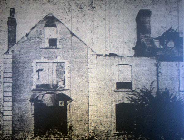 1895 fire at Ridgegrove Villas