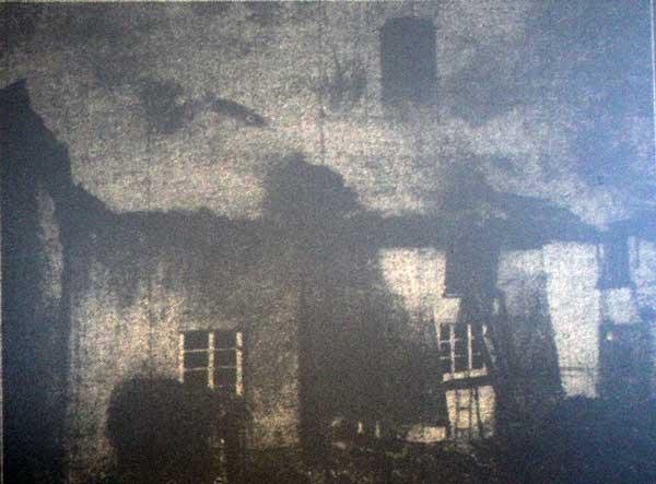 January 1949 fire at Venn Farm, Virginstow
