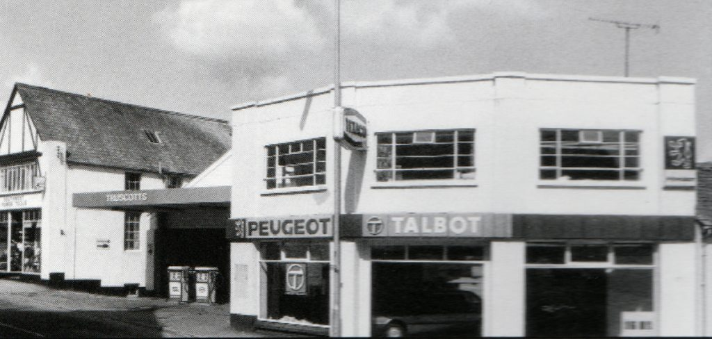 Truscotts Garage, Western Road in 1979.