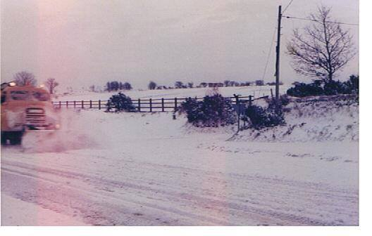 1978-79 Winter at Five Lanes. Photo by Chris Brown