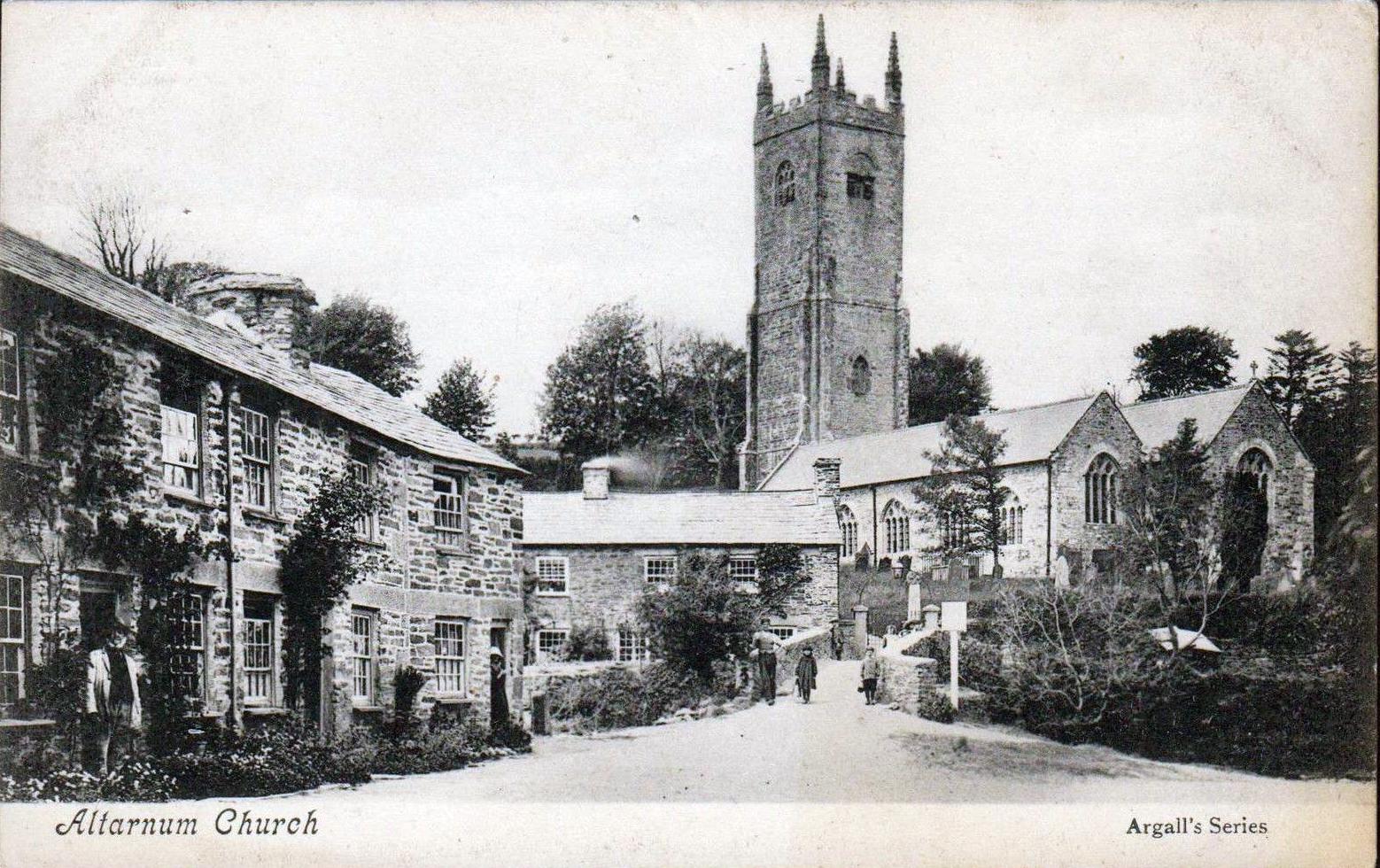 Altarnun Church c 1920.