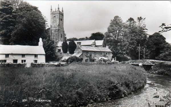 Altarnun Church c.1930's.