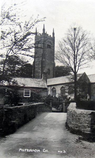 St. Nonna's Church, Altarnun c.1930's