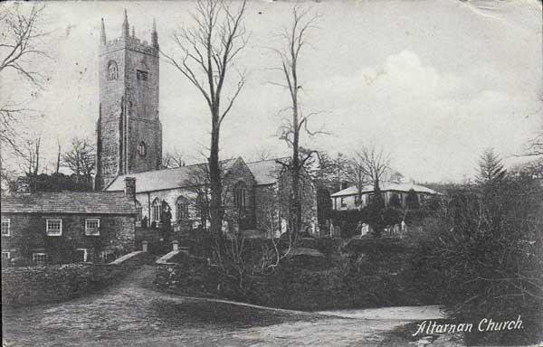 St. Nonna's Church, Altarnun 1905