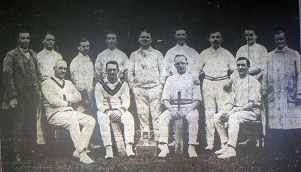 1922 Altarnun Cricket team.