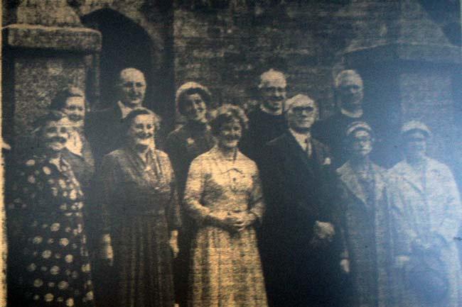 Altarnun Methodist Church Centenary Celebaration in 1959.