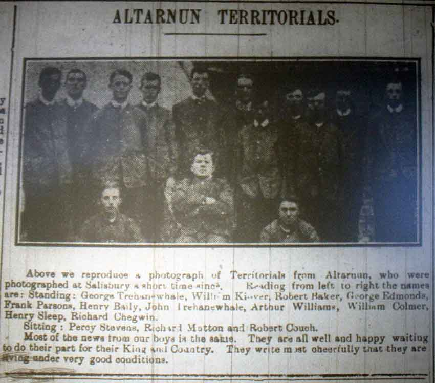 Altarnun-Territorials-1914