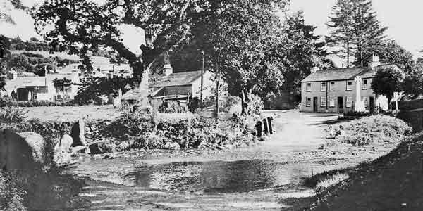 The Ford at Penpont, Altarnun c.1930's.