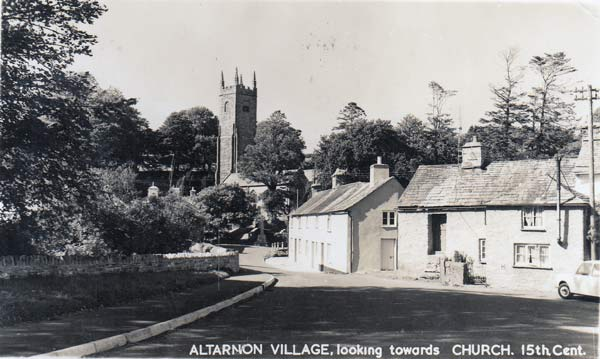 Altarnun Village in the mid 1960's.