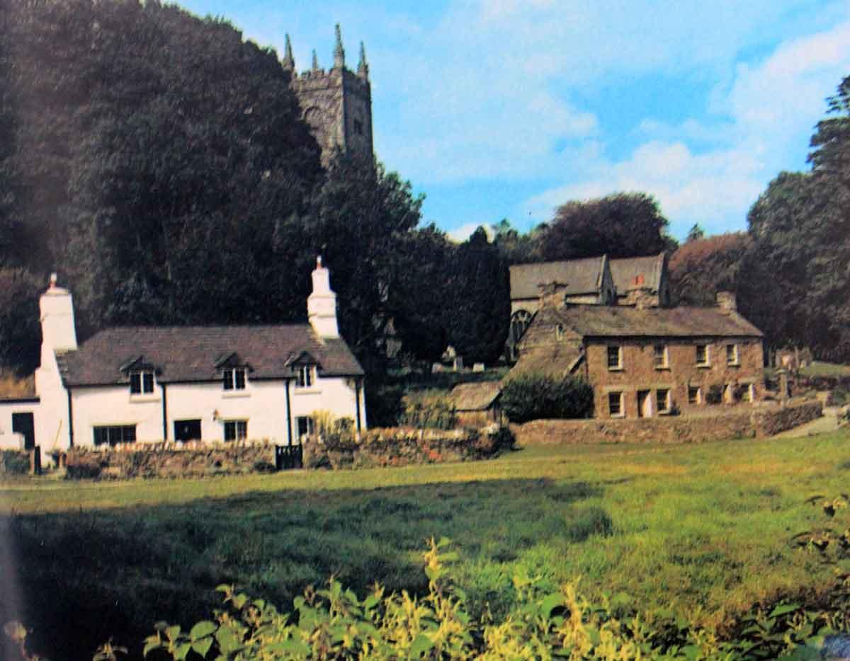 Altarnun Church late 1970's.