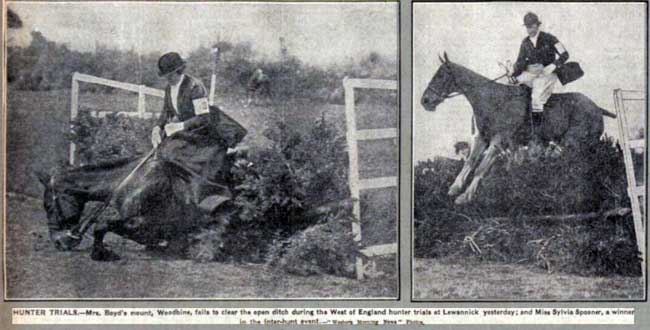 April 1928 Hunter Trials at Lewannick